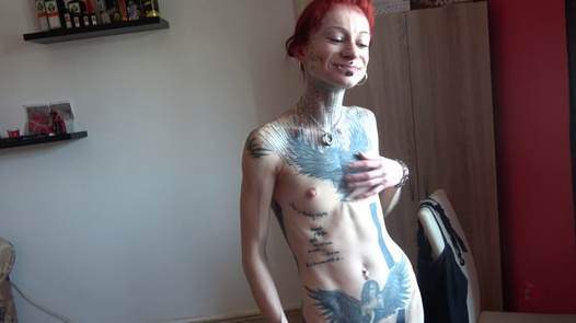 Horny inked amateur | Czech Amateurs 123