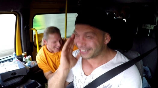 Model gets group fucked | Czech Bang Bus 2