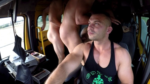 Anal massacre with kinky twins | Czech Bang Bus 5 part 1