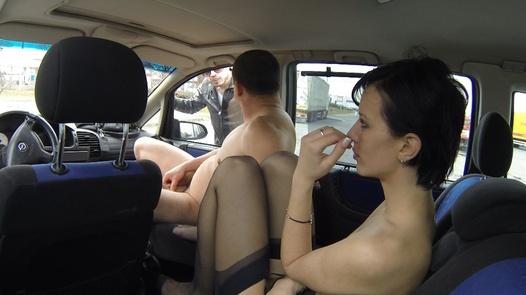 Slut with an aggressive pimp   Czech Bitch 10