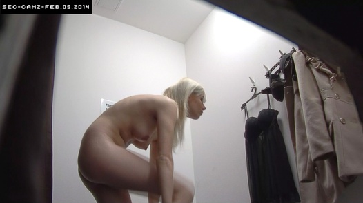 Blonde in sexy lingerie   Czech Cabins 108