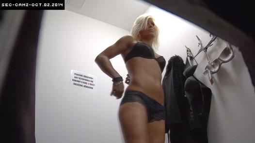 Sporty blonde