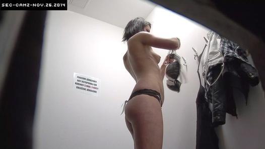Brunette in a hot lingerie   Czech Cabins 140