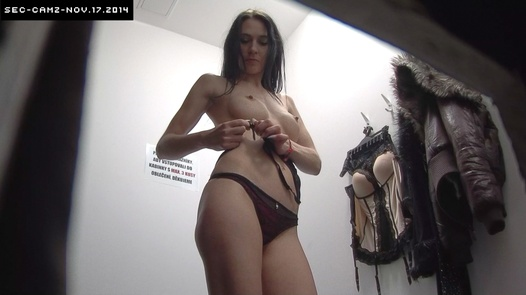 Brunette with huge nipples | Czech Cabins 143