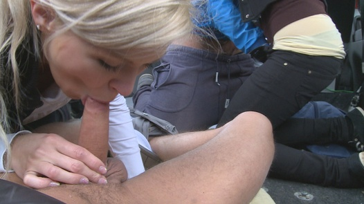 Group fuck in the city centre | Czech Couples 13
