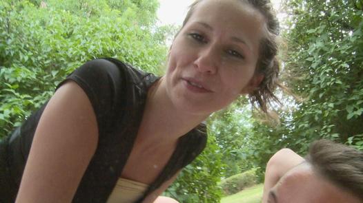 Naive schoolgirl in the park | Czech Couples 14