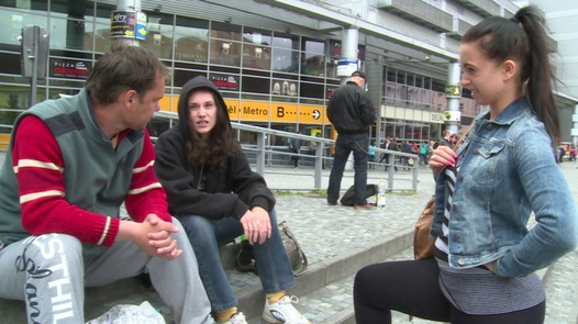 Young squatters | Czech Couples 20