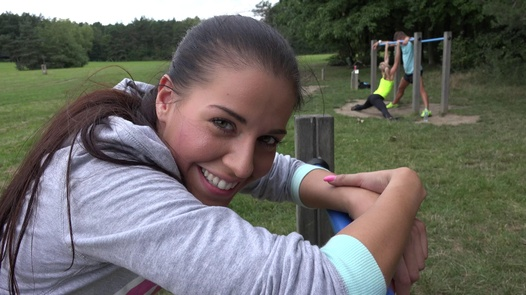 Fitness pussy likes money   Czech Couples 29
