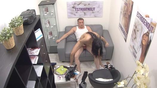 18 y/o squirts twice | Czech Estrogenolit 7
