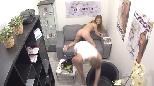 Redhead model squirts far | Czech Estrogenolit 11