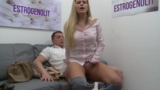 Squirting blonde MILF | Czech Estrogenolit 12
