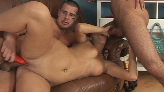 Two cocks for a model | Czech First Video 13