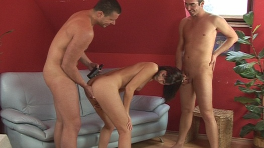 Threesome with a sorority girl   Czech First Video 17