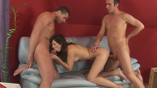 Threesome with a sorority girl | Czech First Video 17