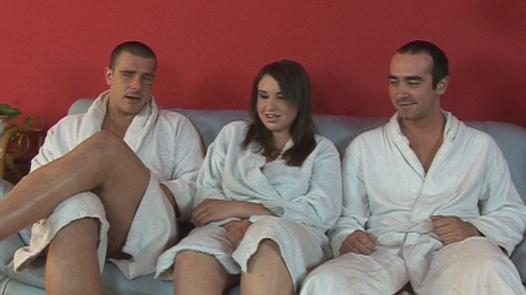 Threesome with a busty and chubby girl | Czech First Video 18