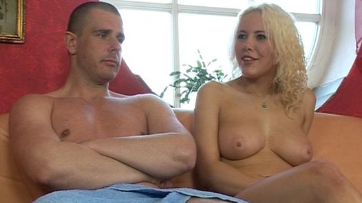 Hot, busty, blonde   Czech First Video 33