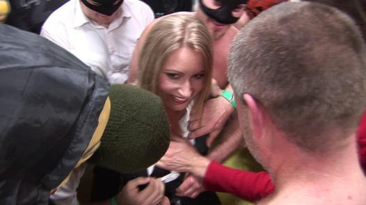 State clerk swallows 70 cocks | Czech Gang Bang 10