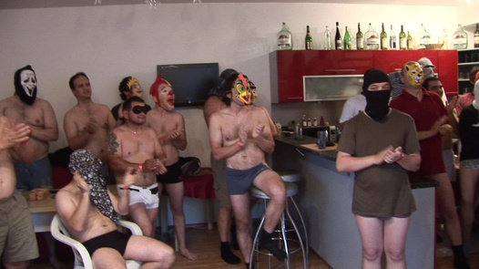 Beautiful wife and a horde of horny guys | Czech Gang Bang 11