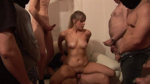 Two beauties and flood of cum | Czech Gang Bang 12