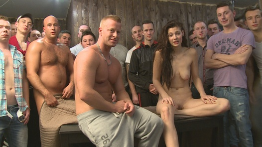 Gangbang with the most beautiful amateur (Part 1)