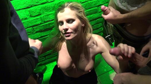 MILFomaniac swallows liters of cum | Czech Gang Bang 20 part 4