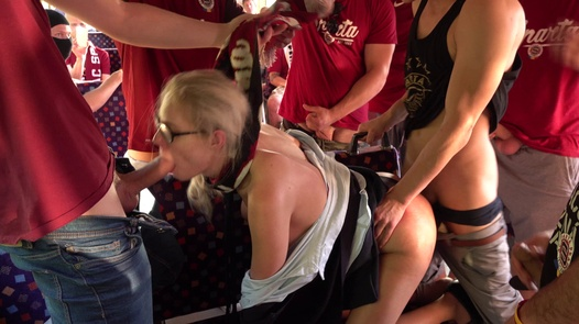Train conductor fucked hard | Czech Gang Bang 21 part 2