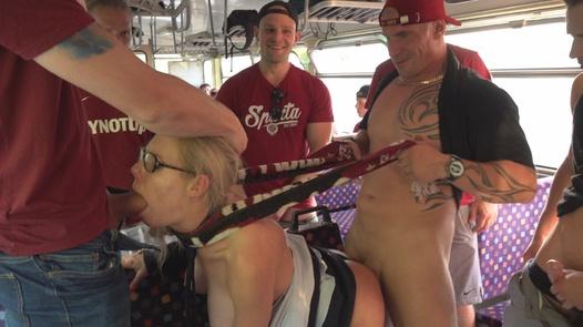 Train conductor fucked hard
