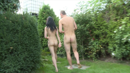 Kinky garden fuck | Czech Garden Party 2 part 3