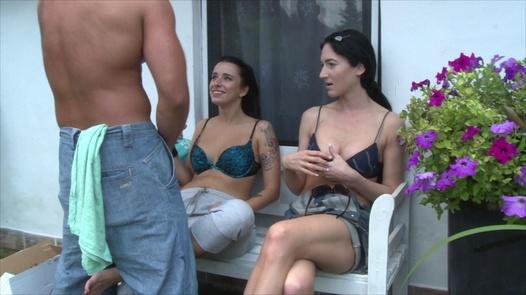 Kinky garden fuck | Czech Garden Party 2 part 3