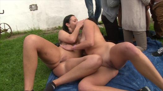 Illegal group fuck | Czech Garden Party 3 part 5