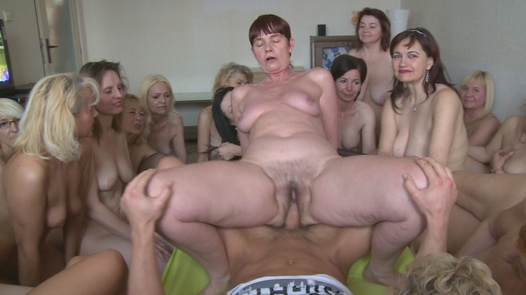 World sensation - harem 50+ (Part 1) | Czech Harem 5 part 1