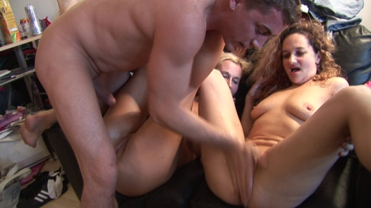 Home orgy with horny beauties | Czech Home Orgy 2 part 1