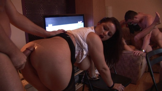 Fucked and jizzed on mother-to-be | Czech Home Orgy 3 part 3