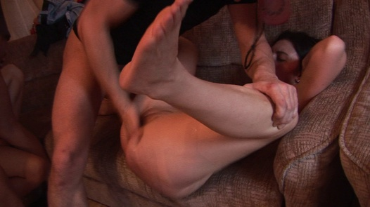 Fucked and jizzed on mother-to-be | Czech Home Orgy 3 díl 3