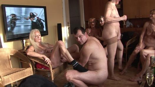 Mature Czechs ride cocks | Czech Home Orgy 4 part 2
