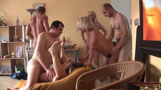 Busty mature Czechs are the best | Czech Home Orgy 4 part 3