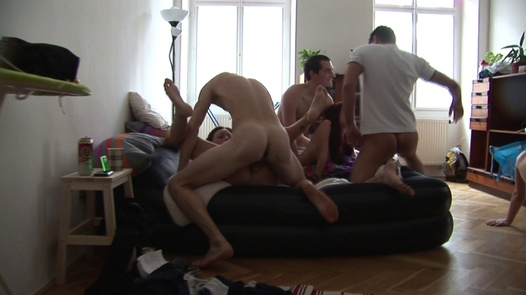 Live fisting   Czech Home Orgy 6 part 3