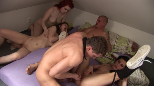 The real home squirt orgy | Czech Home Orgy 7 part 3