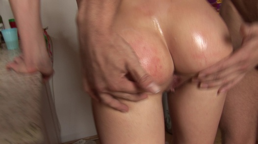 The real home anal orgy | Czech Home Orgy 7 part 4