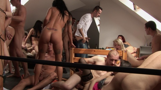 The biggest home orgy ever | Czech Home Orgy 7 part 7