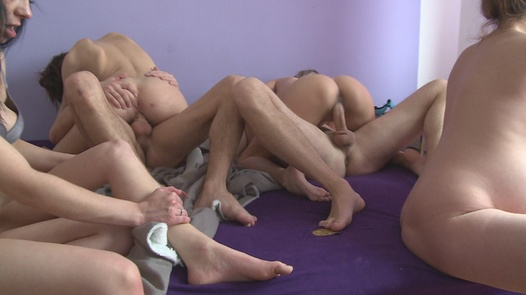 Pregnant and riding a huge cock | Czech Home Orgy 8 part 4