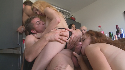 Hairy busty wants some cock | Czech Home Orgy 9 part 2