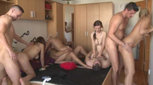 The real home sex massacre | Czech Home Orgy 9 part 5