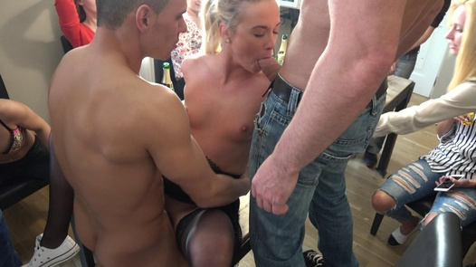 Czech beauties and the cock army | Czech Home Orgy 10 part 2