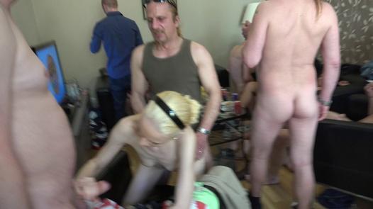 Doggie style tournament | Czech Home Orgy 10 part 3