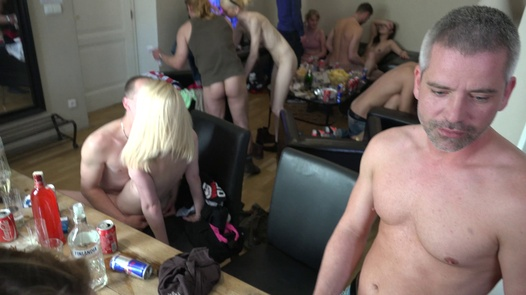 Model covered in cum | Czech Home Orgy 10 part 5