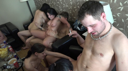 18 y/o squirts non-stop | Czech Home Orgy 10 part 7