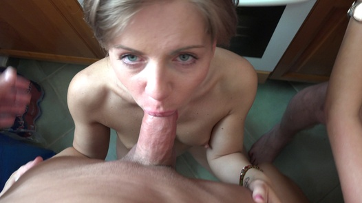 Beautiful busty squirts   Czech Home Orgy 10 part 9