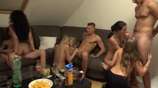 Cum fest | Czech Home Orgy 11 part 7