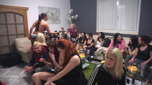 Orgy with the most beautiful Czech lesbians (1)